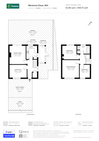 Large floorplan for Meretone Close, Brockley, SE4