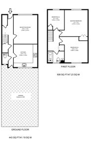 Large floorplan for Welsh Close, Plaistow, E13