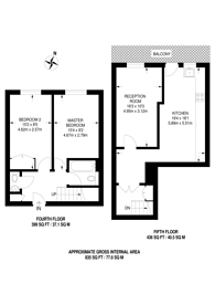 Large floorplan for Bibury Close, Peckham, SE15