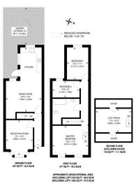 Large floorplan for Eden Road, Walthamstow Village, E17