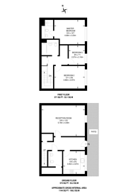 Large floorplan for Pell Street, Deptford, SE8