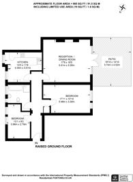 Large floorplan for Dovehouse Street, Chelsea, SW3