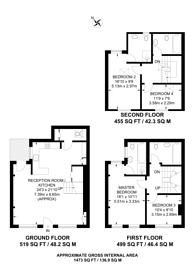 Large floorplan for Westbourne Terrace Mews, Bayswater, W2