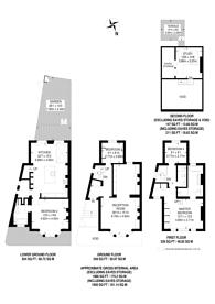 Large floorplan for Ashburnham Road, Chelsea, SW10