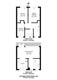 Large floorplan for Churchill Gardens, Pimlico, SW1V