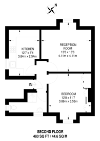 Large floorplan for St James Road, Sutton, SM1