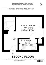 Large floorplan for Mount View Road, Crouch End, N4