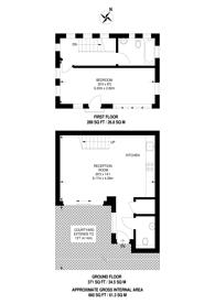 Large floorplan for Appleby Road, London Fields, E8
