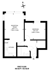 Large floorplan for Appleford Road, North Kensington, W10