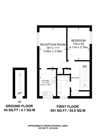 Large floorplan for Stephan Close, London Fields, E8