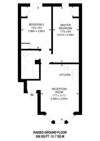 Large floorplan for Avonmore Road, West Kensington, W14