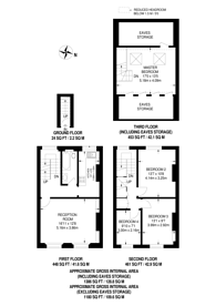 Large floorplan for Flaxman Road, Camberwell, SE5