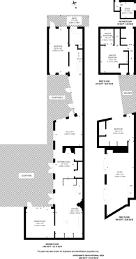 Large floorplan for Hackney Road, Hackney, E2