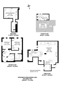 Large floorplan for Park Lofts, SW2, Brixton, SW2