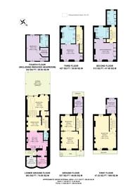Large floorplan for Eaton Terrace, Belgravia, SW1W