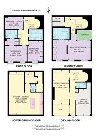Large floorplan for Hyde Park Gardens Mews, Hyde Park Estate, W2