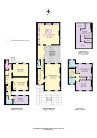 Large floorplan for Canning Place, Kensington, W8