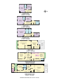 Large floorplan for Montpelier Square, Knightsbridge, SW7
