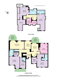Large floorplan for Mountview Close, Golders Green, NW11