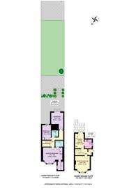 Large floorplan for Elm Park Road, Chelsea, SW3