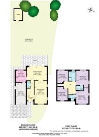 Large floorplan for Greencroft, Merrow, GU1