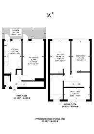 Large floorplan for Carnoustie Drive, Islington, N1