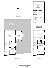 Large floorplan for Wellington Mews, Streatham Hill, SW16