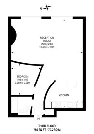 Large floorplan for Paul Street, Shoreditch, EC2A