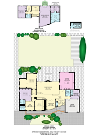Large floorplan for Harman Close, Hocroft Estate, NW2