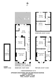 Large floorplan for Whyteville Road, Forest Gate, E7