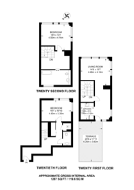 Large floorplan for Mastmaker Road, Canary Wharf, E14