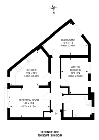 Large floorplan for Charles Street, Central Croydon, CR0