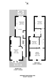 Large floorplan for Talma Road, Brixton, SW2