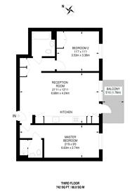 Large floorplan for Festuca House, Stratford, E20