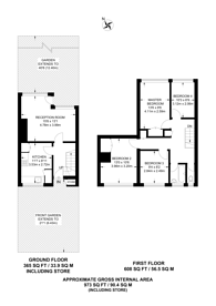 Large floorplan for Eric Street, Mile End, E3