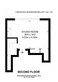 Large floorplan for Arundel House, Notting Hill, W11