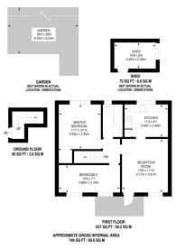 Large floorplan for Exeter Road, Hanworth, TW13