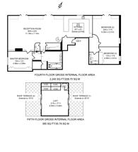 Large floorplan for Brandon House, Munster Village, SW6