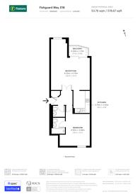 Large floorplan for Fishguard Way, Gallions Reach, E16