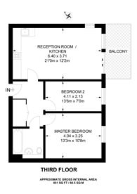 Large floorplan for Leven Road, Tower Hamlets, E14