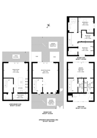 Large floorplan for Dickenson Road, Crouch End, N8