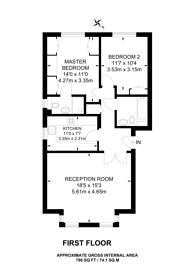 Large floorplan for Aylesbury Road, Bromley South, BR2