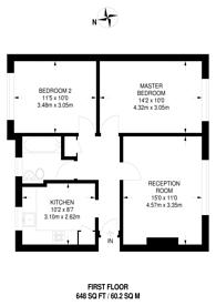 Large floorplan for Martins Road, Bromley, BR2