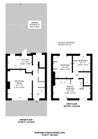 Large floorplan for West Putney, Putney, SW15