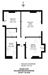 Large floorplan for Mount Park Road, Ealing, W5