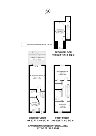 Large floorplan for Banfield Road, Nunhead, SE15