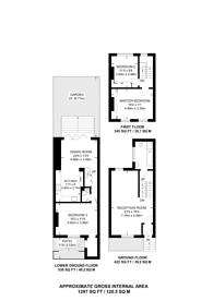 Large floorplan for Bevan Street, Islington, N1