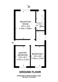 Large floorplan for Alpha Street, Peckham Rye, SE15