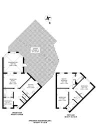 Large floorplan for Elsinore Gardens, Cricklewood, NW2