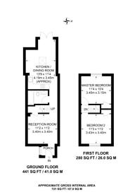 Large floorplan for Byron Road, Wealdstone, HA3